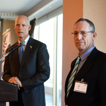 Chamber Hosts Florida Governor Rick Scott and a Large Business Delegation for a Breakfast Presentation
