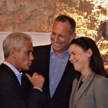 The Chamber hosted Chicago Mayor Rahm Emanuel