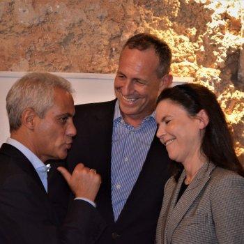 The Chamber hosted Chicago Mayor Rahm Emanuel