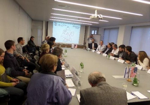 Round Table with Brooklyn Business Delegation