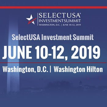 MARK YOUR CALENDAR: 2019 SELECTUSA INVESTMENT SUMMIT
